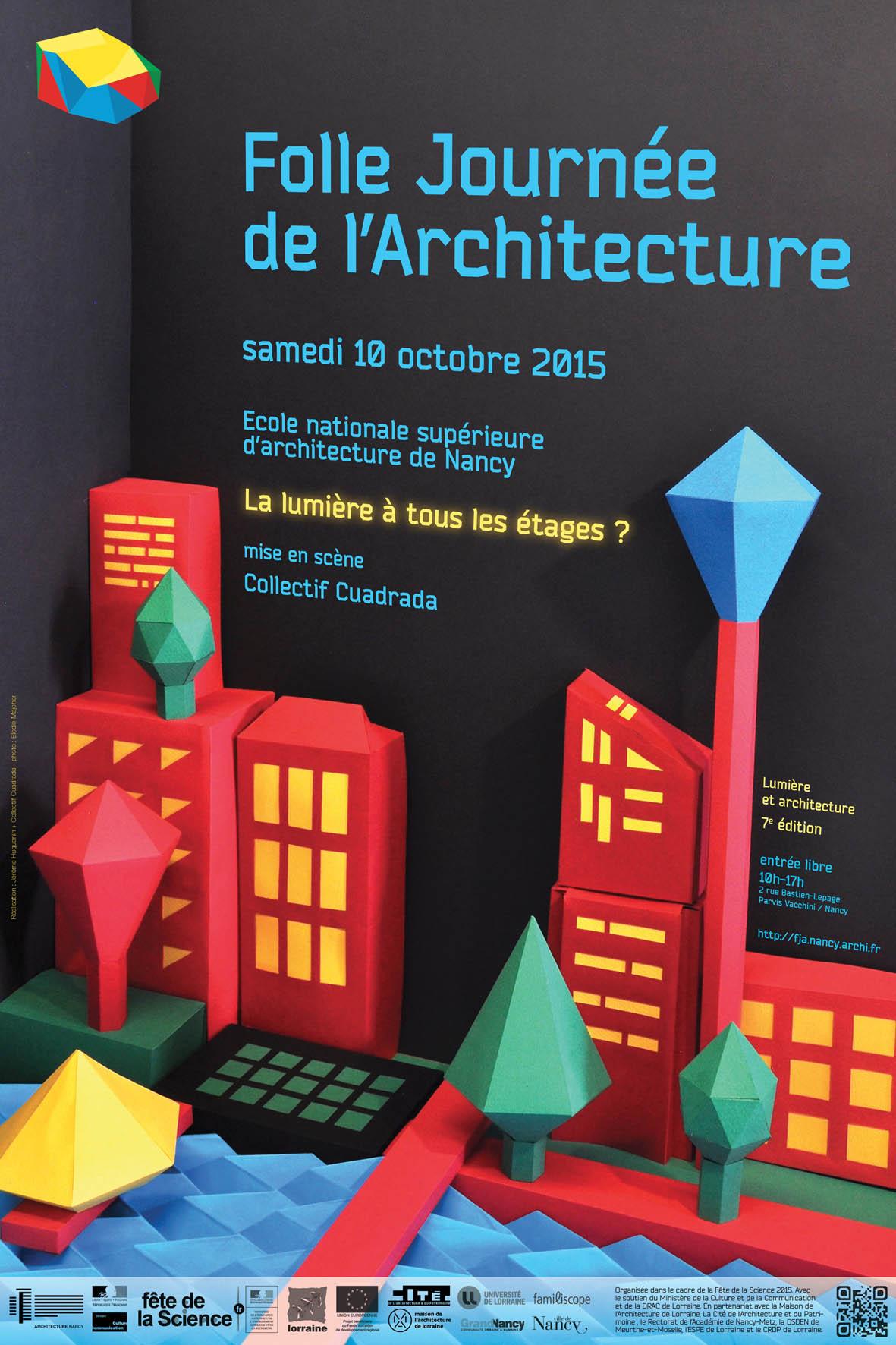 Fja 2015 folle journ e de l 39 architecture culture architecturale - Journee de l architecture ...